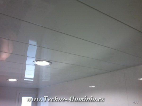 falsos techos de aluminio
